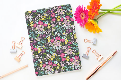 A5 English Hedgerow Brights Lined Page Notebook
