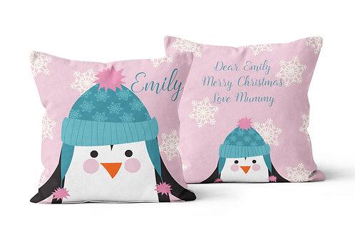 Penguin Personalised Cushion