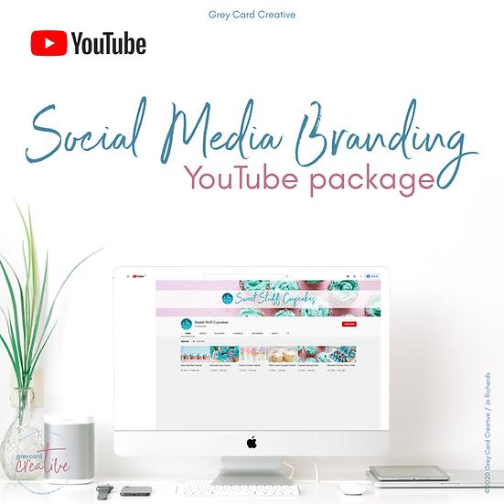 YouTube Social Media Branding Package