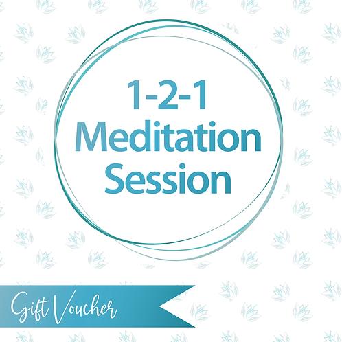 1-2-1 Meditation Session Gift Voucher