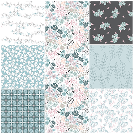 Surface Pattern Design English Hedgerow