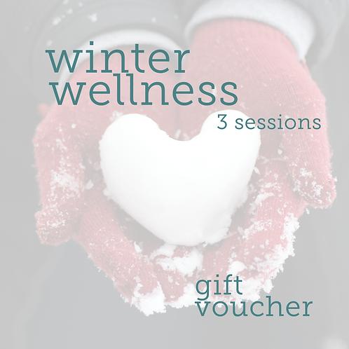 Gift Voucher Winter Wellness