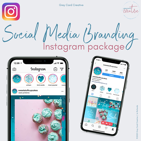 Instagram Social Media Branding Package