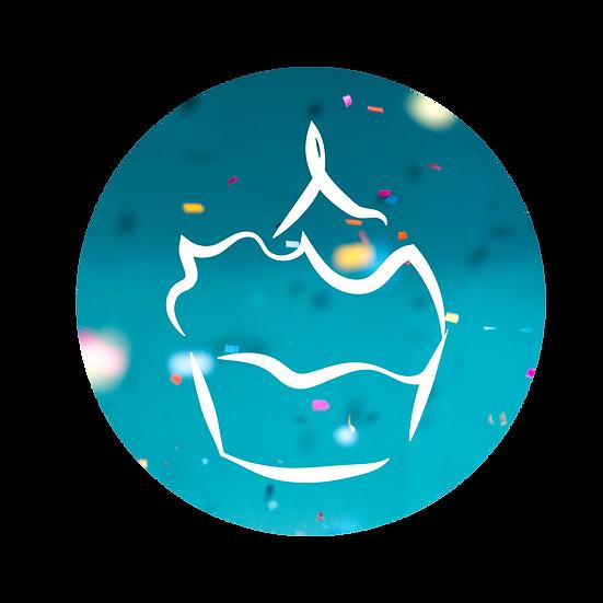 Pre-Designed Logo Cupcake