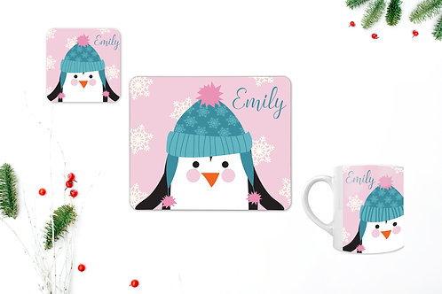 Penguin Personalised Table Set