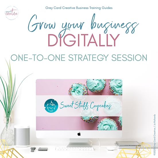 Personalised Strategy Session - Grow Your Business Digitally