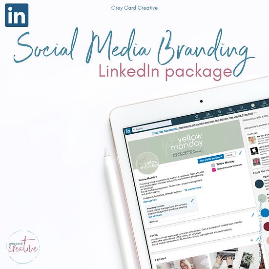 LinkedIn Social Media Branding Package
