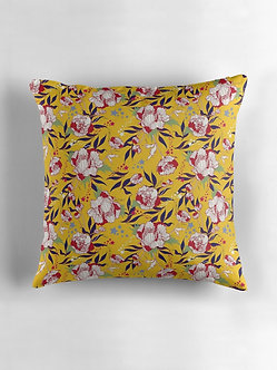 Stars and Stripes Cushion in Mustard