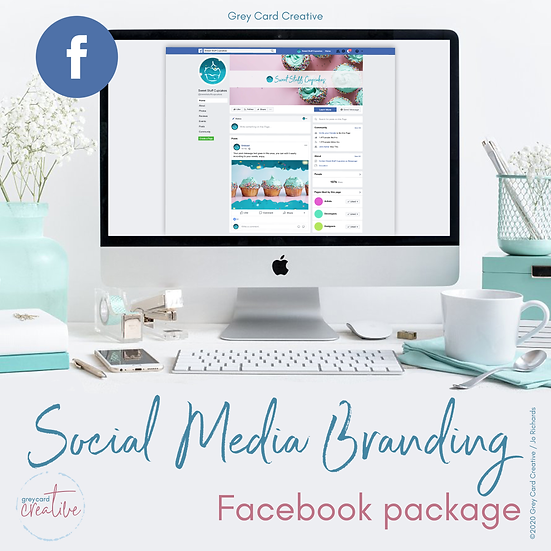 Facebook Social Media Branding Package
