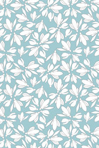 Surface Pattern Design Primrose and Mabel Snowdrops