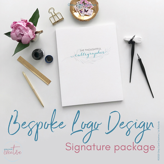 Signature Bespoke Logo Design Package