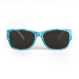 Safari Leaves Sunglasses in Turquoise