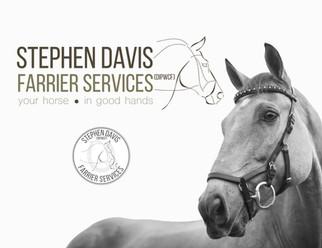 Stephen Davis Farrier Services   Logo & Branding