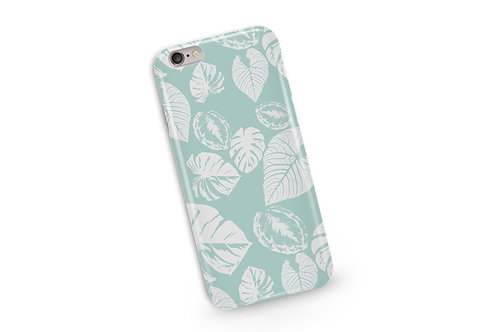 Safari Leaves Phone Case in Sage