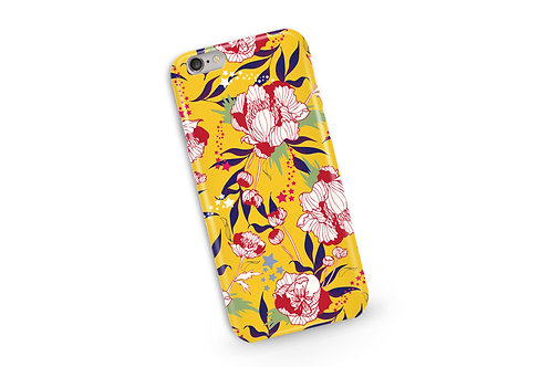 Stars and Stripes Phone Case in Mustard