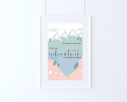 An Adventure A4 Art Print