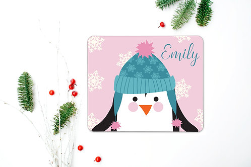 Penguin Personalised Place Mat