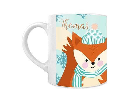 Fox Personalised Mug