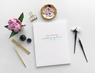 The Thoughtful Callihgrapher   Branding