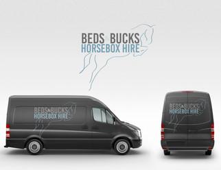 Beds & Bucks Horsebox Hire   Logo & Branding