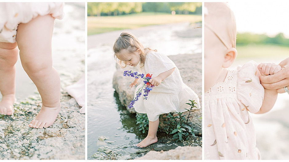 July 8, 2021 - A Toes-in-the-Water Family Session