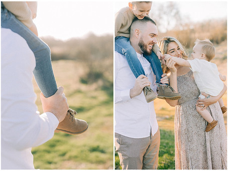 May 13, 2021 - A Family Session Full of Love and Care