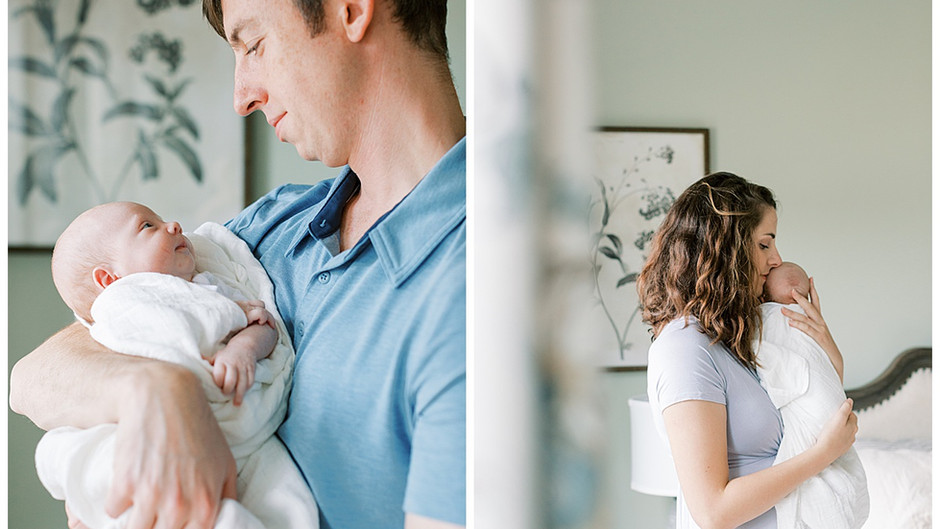 October 22, 2020 - An Intimate Home Newborn Session