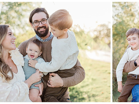 May 28, 2020 - A Light Filled Family Session