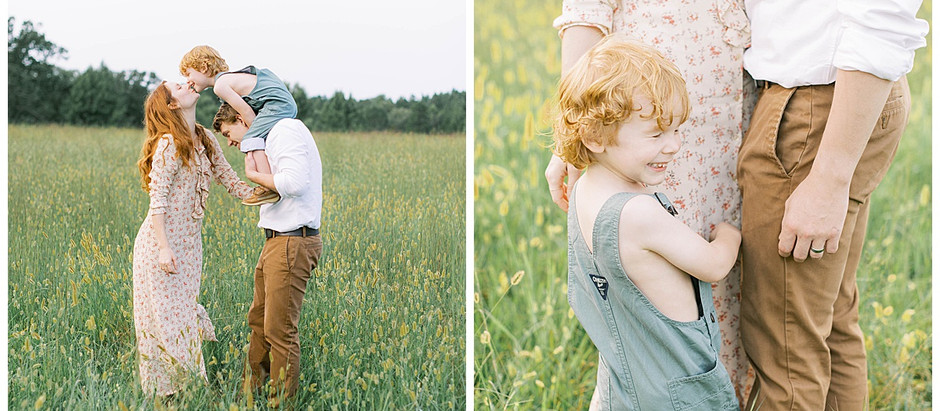 October 1, 2020 - A Virginia Family Session with Whispers of Autumn