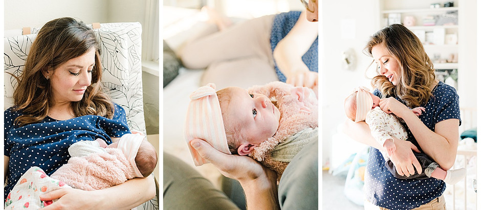 August 6, 2020 - A New Baby Session in the Comfort of Home