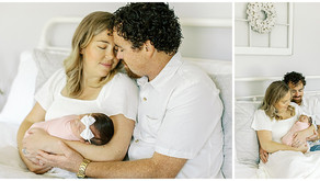 August 19, 2021 - A Lifestyle Newborn Session