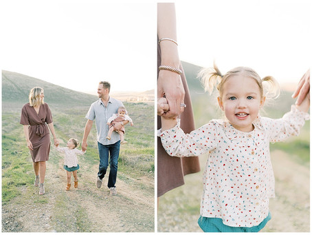 April 2, 2020 - A Fresno Foothills Family Session