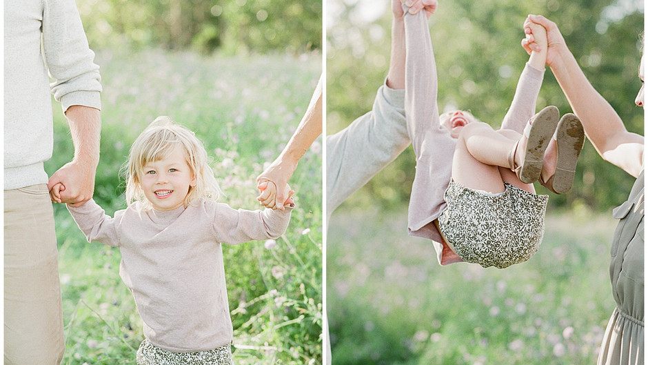 July 22, 2021 - A Warm, Carefree Summer Night Family Session