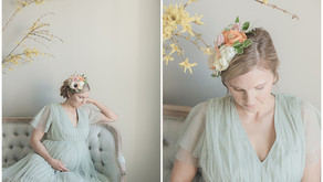 June 24, 2021 - A Spring-Inspired Maternity Session