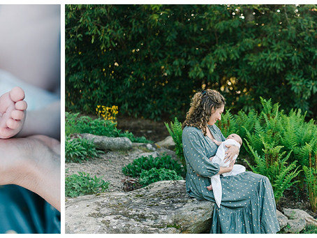 August 13, 2020 - A Sentimental Newborn Session