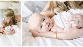 September 30, 2021 - High School Sweethearts, A Lifestyle Newborn Session