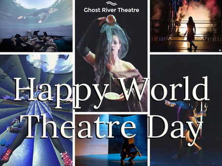 The World is a Little Different this World Theatre Day