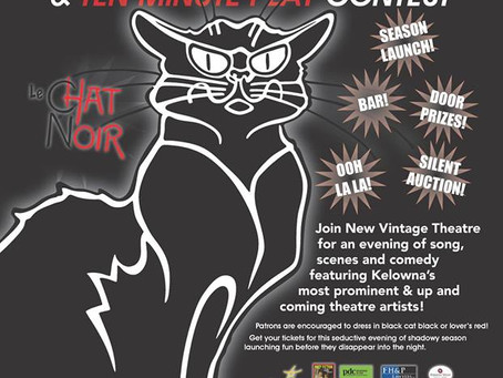 Dispatch and Phobia are competing at New Vintage Theatre this weekend!