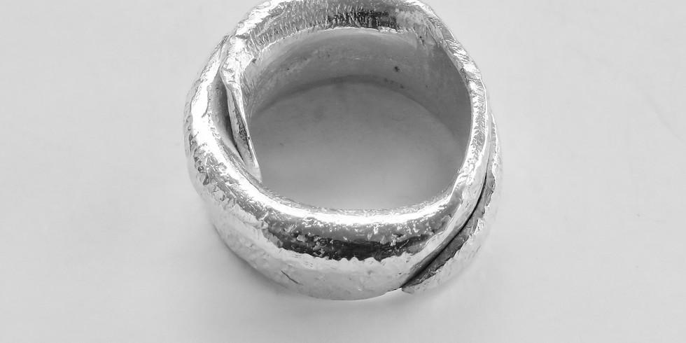 Ontwerp je zilveren ring 18 mei 2019 14 uur