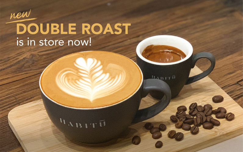 """New Coffee Blend """"Double Roast"""" is in store now!"""