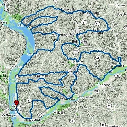 Lower Kickapoo Route & Track + Lite Versions