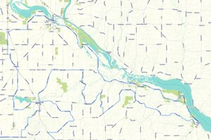 Driftless Road Adventures Paper Maps