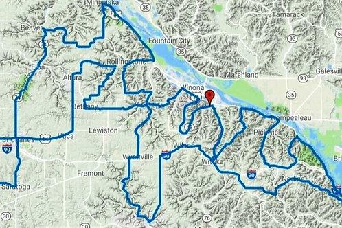 Winona-Whitewater Route & Track + Lite Versions