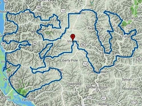 Black Hawk Trail Route & Track + Lite Versions
