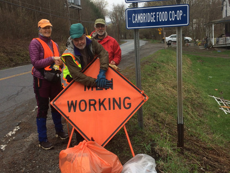 Co-op Cleans Up Adopted Roadside