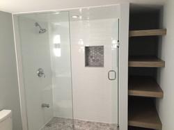 Walk-in Shower & Linen