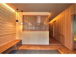 素材の特徴を巧みに融合させ  京町屋の趣を楽しむ