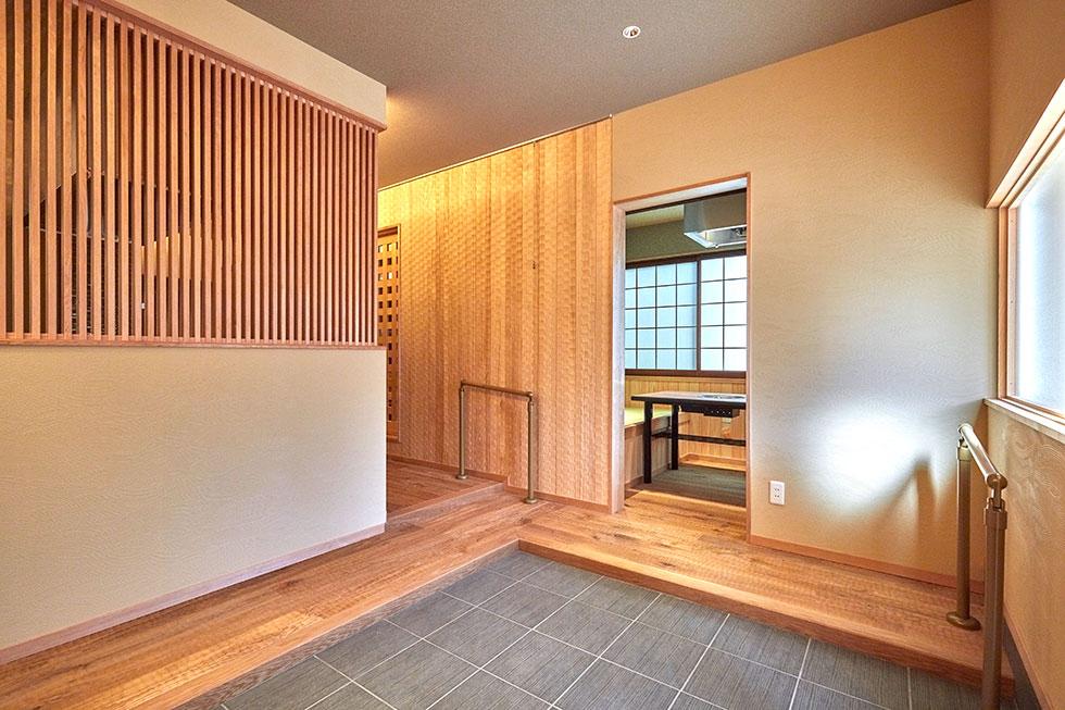 素材の特徴を巧みに融合させ京町屋の趣を楽しむ-after