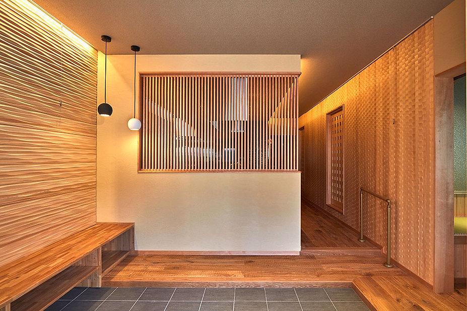 施工事例【リフォーム】素材の特徴を巧みに融合させ京町屋の趣を楽しむ