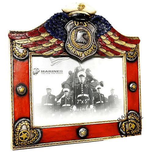 MARINES WING 7X5 FRAME